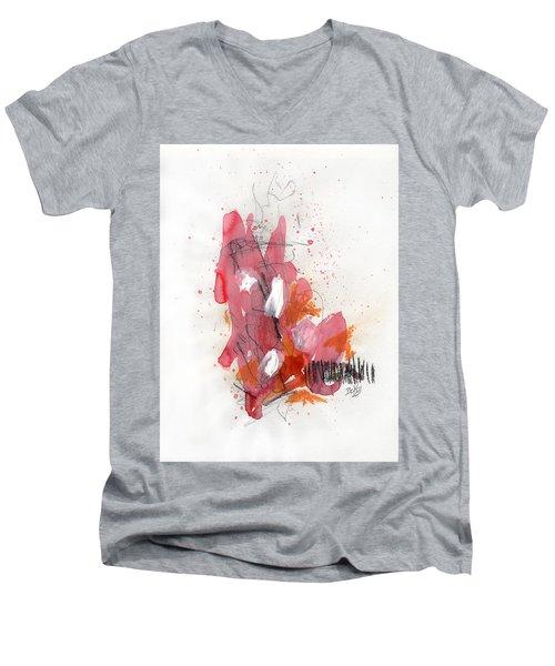 Hundelskurd Men's V-Neck T-Shirt