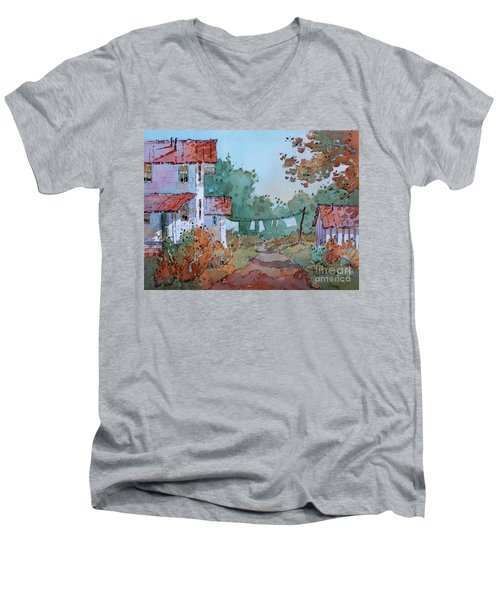 Hung Out To Dry Men's V-Neck T-Shirt