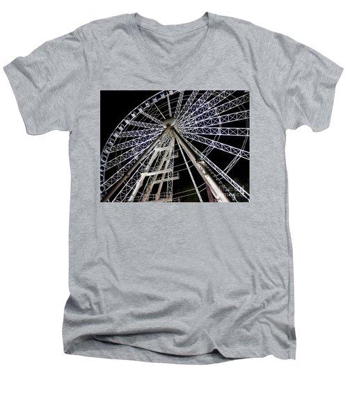 Hungarian Wheel Men's V-Neck T-Shirt
