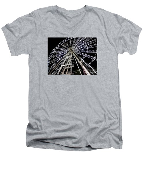 Hungarian Wheel Men's V-Neck T-Shirt