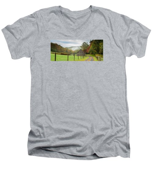 Hunting Cabin-3 Men's V-Neck T-Shirt