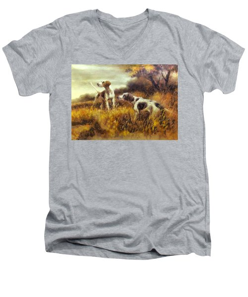 Hunting Dogs No1 Men's V-Neck T-Shirt