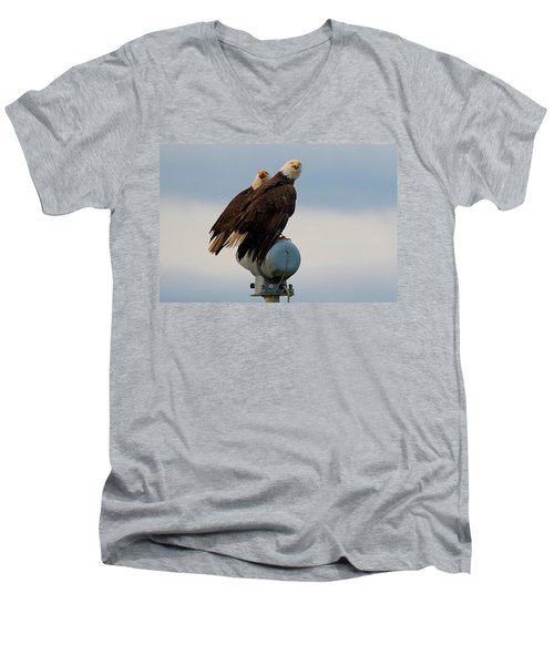 Hunting Pair Men's V-Neck T-Shirt