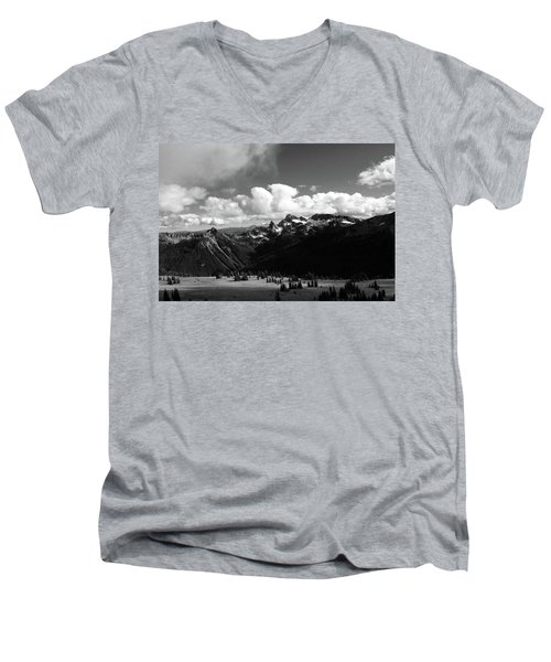 Hurricane Ridge Men's V-Neck T-Shirt