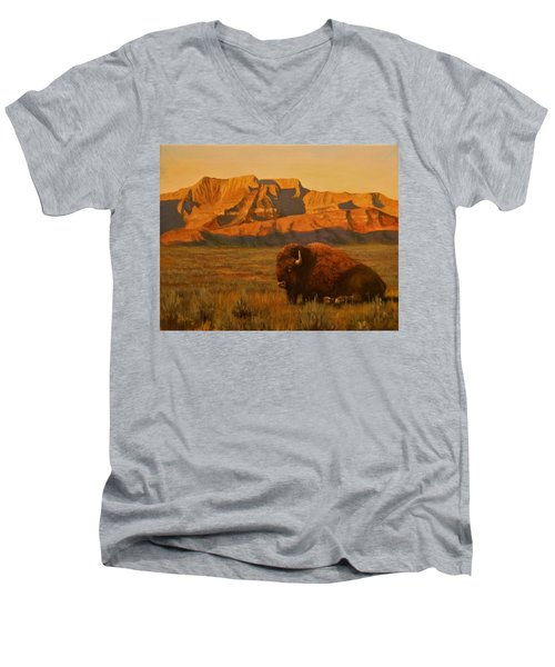 Hurry Sunup Men's V-Neck T-Shirt