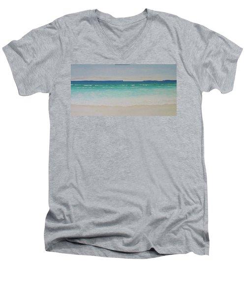 Hyams Beach Men's V-Neck T-Shirt