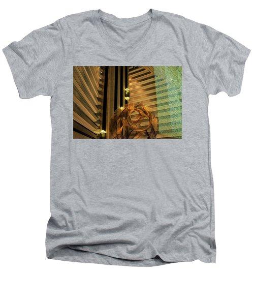 Hyatt Regency Sf Atrium Men's V-Neck T-Shirt