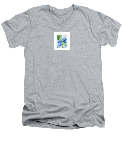 Hydranga Men's V-Neck T-Shirt