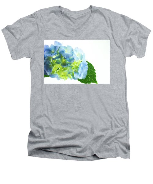Hydrangea Magic Men's V-Neck T-Shirt