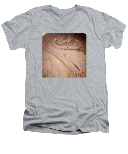 Hydro Magnito Meat Raisin Men's V-Neck T-Shirt