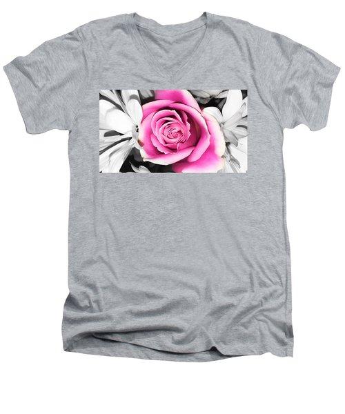 Hypnotic Pink 2 Men's V-Neck T-Shirt
