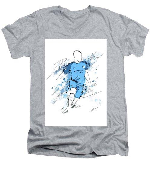 I Am Sky Blue #2 Men's V-Neck T-Shirt