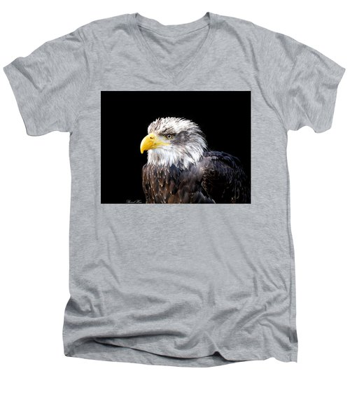 I Am The Law Men's V-Neck T-Shirt by Bernd Hau