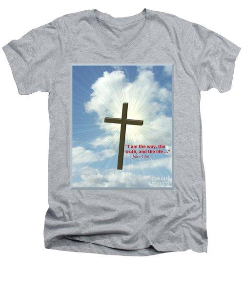 I Am The Way Men's V-Neck T-Shirt