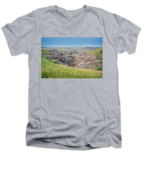 I Can See For Miles Men's V-Neck T-Shirt