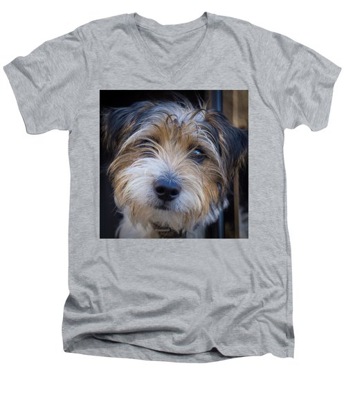 I Can See You Men's V-Neck T-Shirt by Doug Harman
