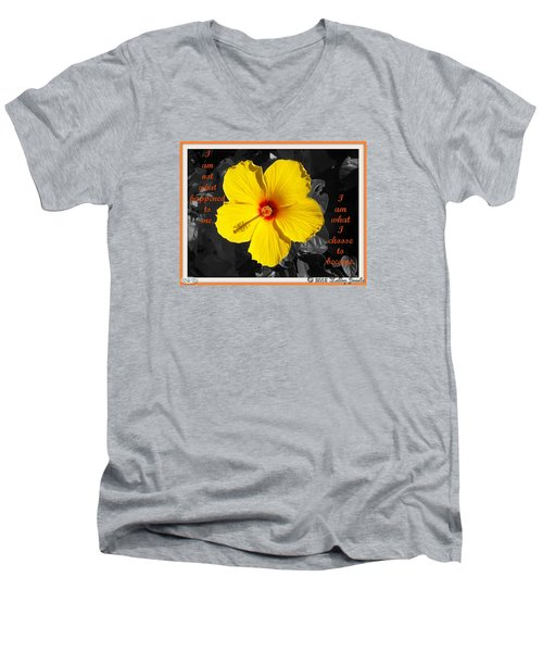 I Choose To Become Men's V-Neck T-Shirt by Holley Jacobs