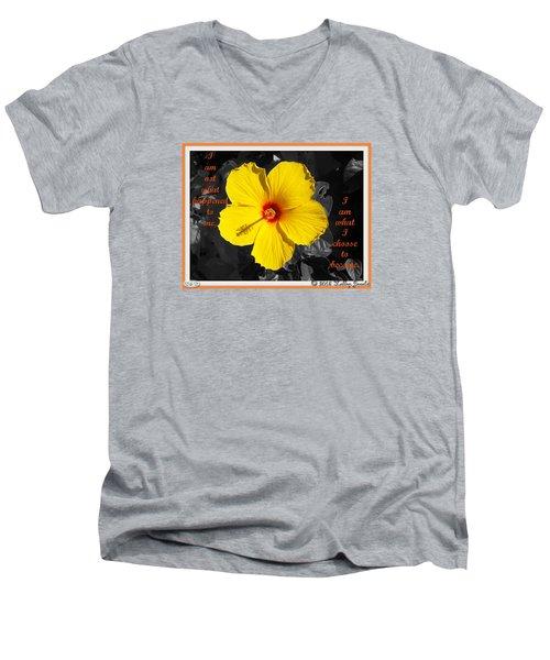 I Choose To Become Men's V-Neck T-Shirt
