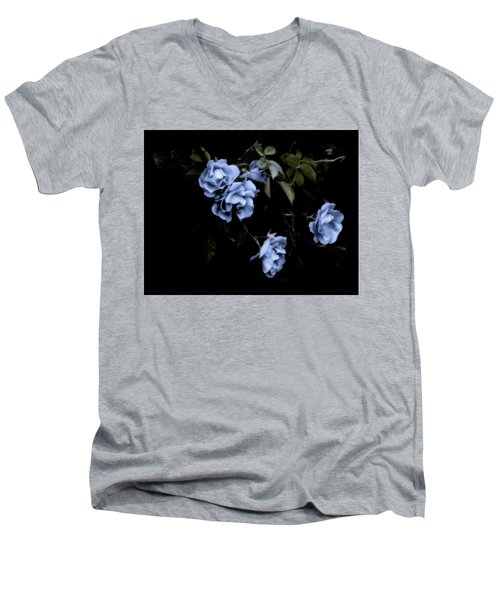 I Dream Of Roses Men's V-Neck T-Shirt