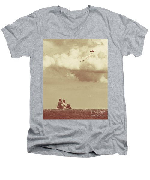 I Had A Dream I Could Fly From The Highest Swing Men's V-Neck T-Shirt