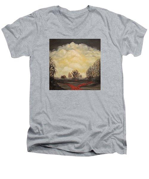I Had A Dream Men's V-Neck T-Shirt by John Stuart Webbstock