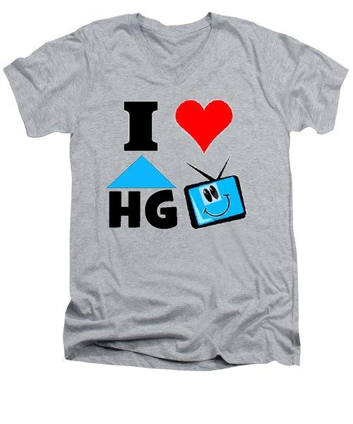 I Love Hgtv T-shirt Men's V-Neck T-Shirt