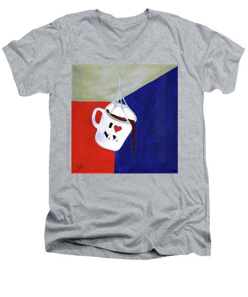 I Love New York Men's V-Neck T-Shirt