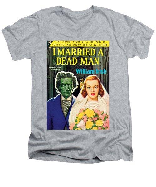 I Married A Dead Man Men's V-Neck T-Shirt