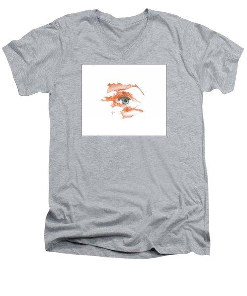 I O'thy Self Men's V-Neck T-Shirt by James Lanigan Thompson MFA