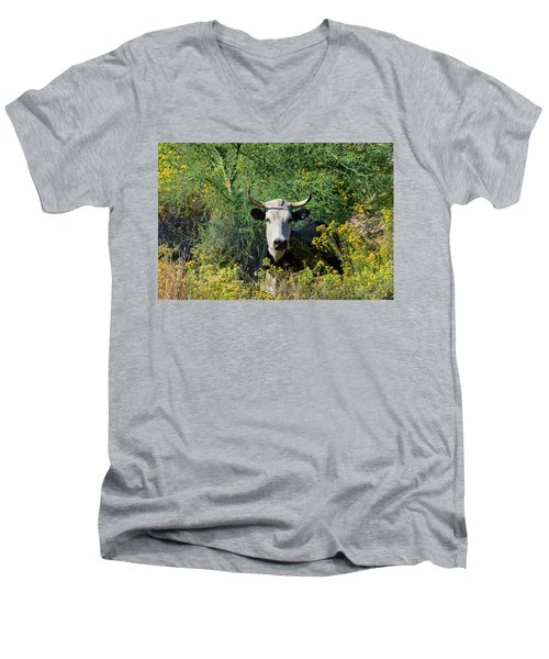 I Picked These For Moo Men's V-Neck T-Shirt
