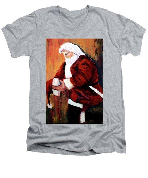 I Pray For The Strength To Make Things Better Men's V-Neck T-Shirt
