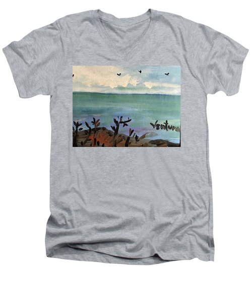 I Stood There And Watched It All Men's V-Neck T-Shirt