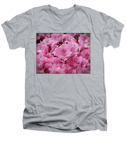 Thinking Of You Nana Men's V-Neck T-Shirt by MaryLee Parker