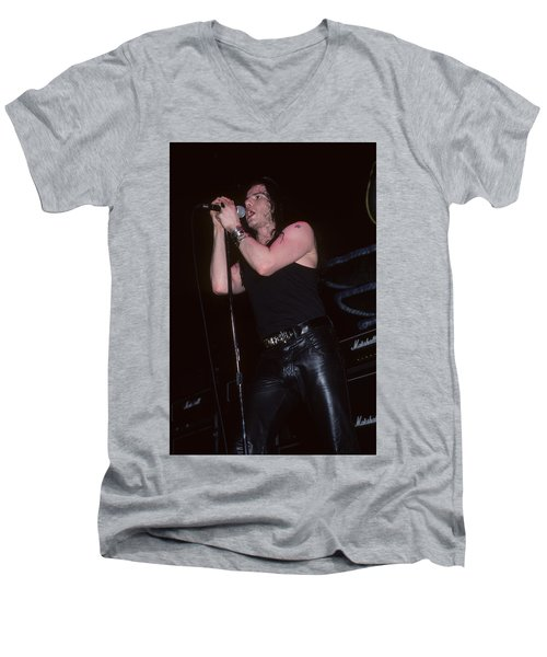 Ian Astbury Of The Cult Men's V-Neck T-Shirt