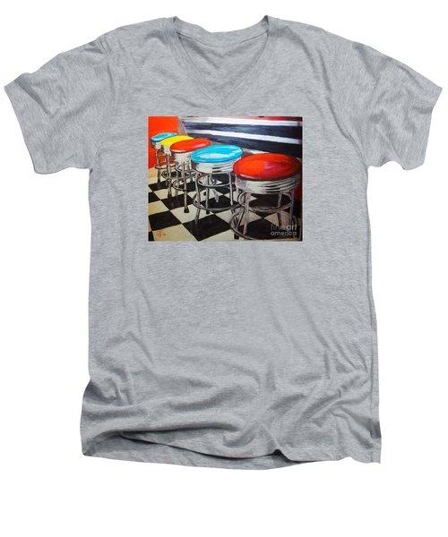 Ice Cream Anyone? Men's V-Neck T-Shirt
