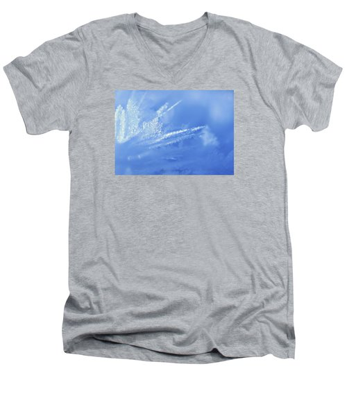 Ice Crystals 2 Men's V-Neck T-Shirt