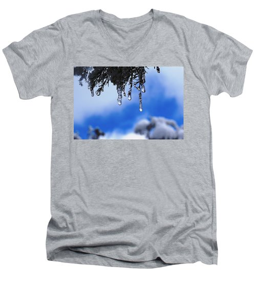 Ice Drops Men's V-Neck T-Shirt