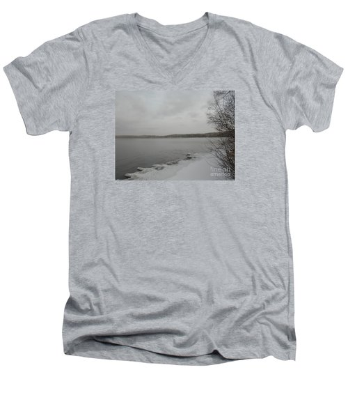 Ice Edge Men's V-Neck T-Shirt