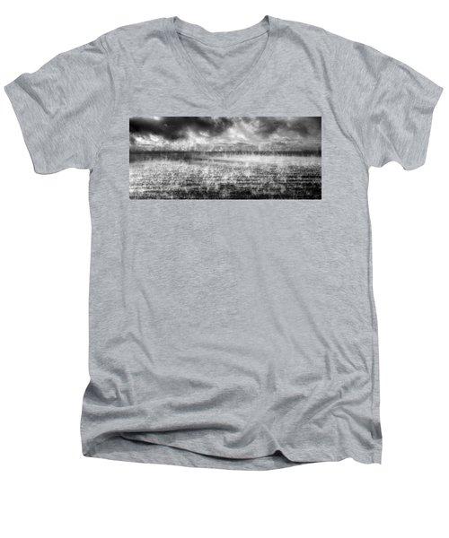 Ice Fog  Men's V-Neck T-Shirt