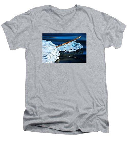 Ice Formation 12 Men's V-Neck T-Shirt