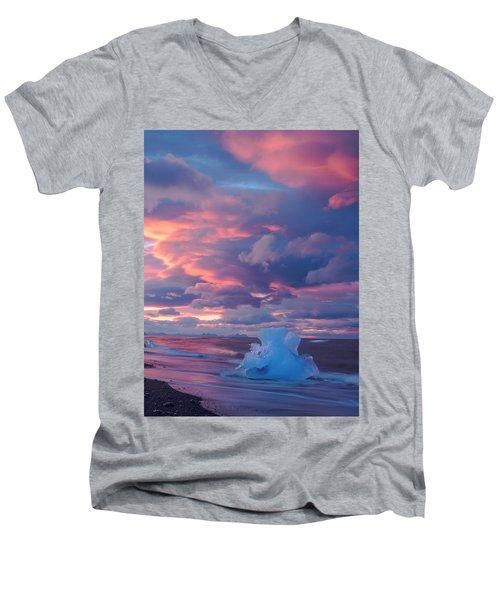 Ice Ignites Men's V-Neck T-Shirt