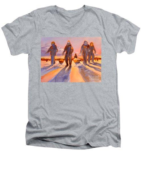 Ice Men Come Home Men's V-Neck T-Shirt