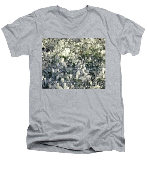 Ice On The Lawn Men's V-Neck T-Shirt