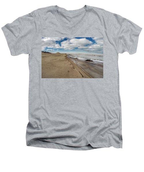 Ice Shelf Men's V-Neck T-Shirt