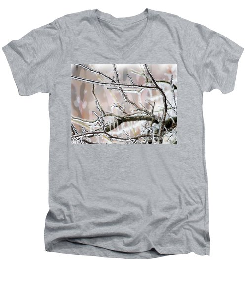 Ice Storm Ice Men's V-Neck T-Shirt