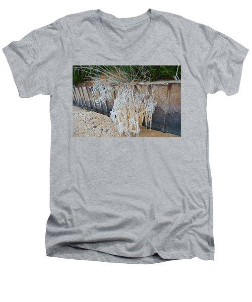 Iced Over Men's V-Neck T-Shirt