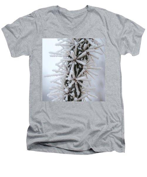 Icy Cactus Men's V-Neck T-Shirt