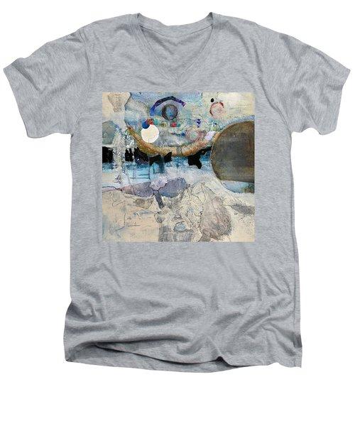 Icy Moon Men's V-Neck T-Shirt