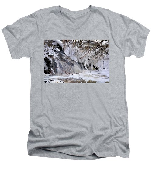 Icy Spring Men's V-Neck T-Shirt