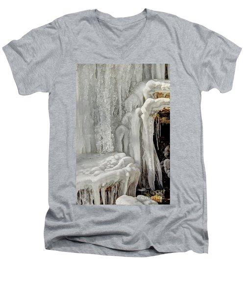 Icy Tendrils Men's V-Neck T-Shirt
